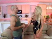 MILF in hot sexy body seducing her sons friend...